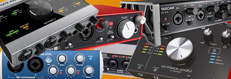 Audio Interface Under 200 heading