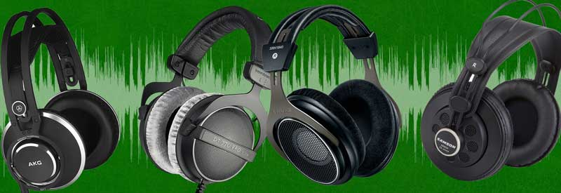 Headphones For Recording And Mixing