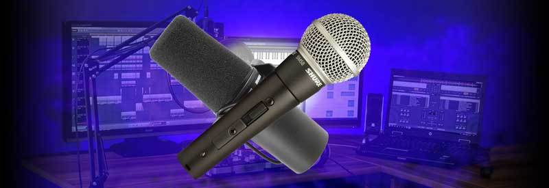Using Dynamic Microphone For Studio