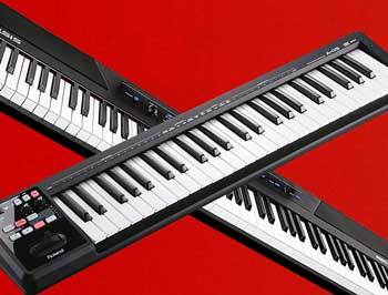 MIDI Keyboard and Synthesizer