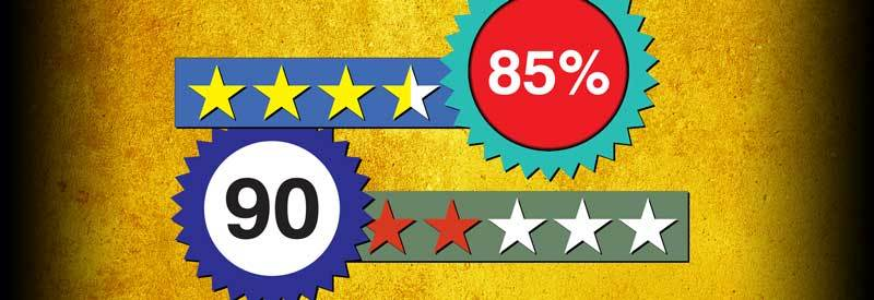 Star Rating And Percentages